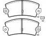 Pastillas de freno Brake Pad Set:77 01 602 289
